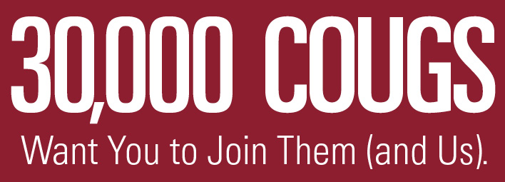 30,000 Cougs Have Joined!