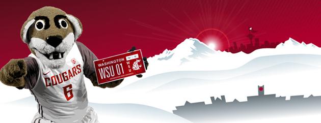 Washington State University Alumni Association - License Plates