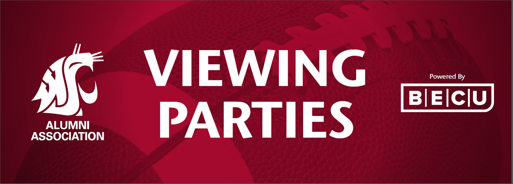 Washington State University Alumni Association Football Viewing Parties